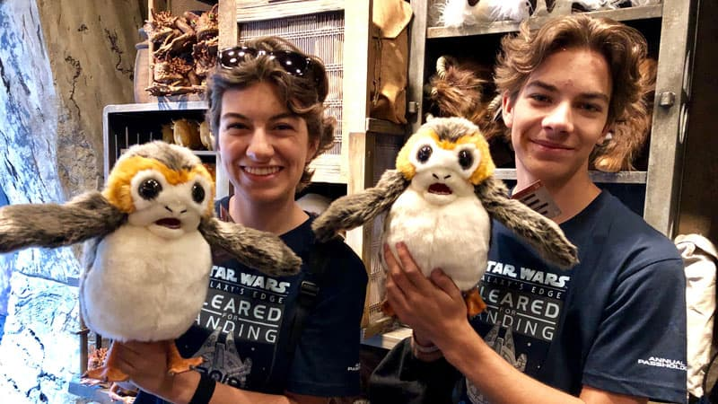 Porgs at the Creature Stall