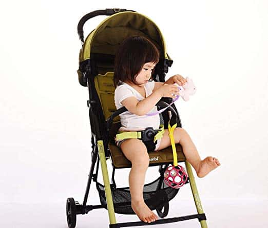 Secure Kids Toy in Stroller
