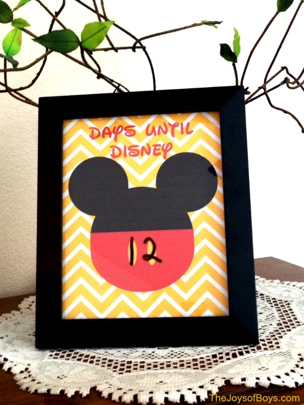 Great Ways to Countdown the Days to Your Disney World Vacation 4