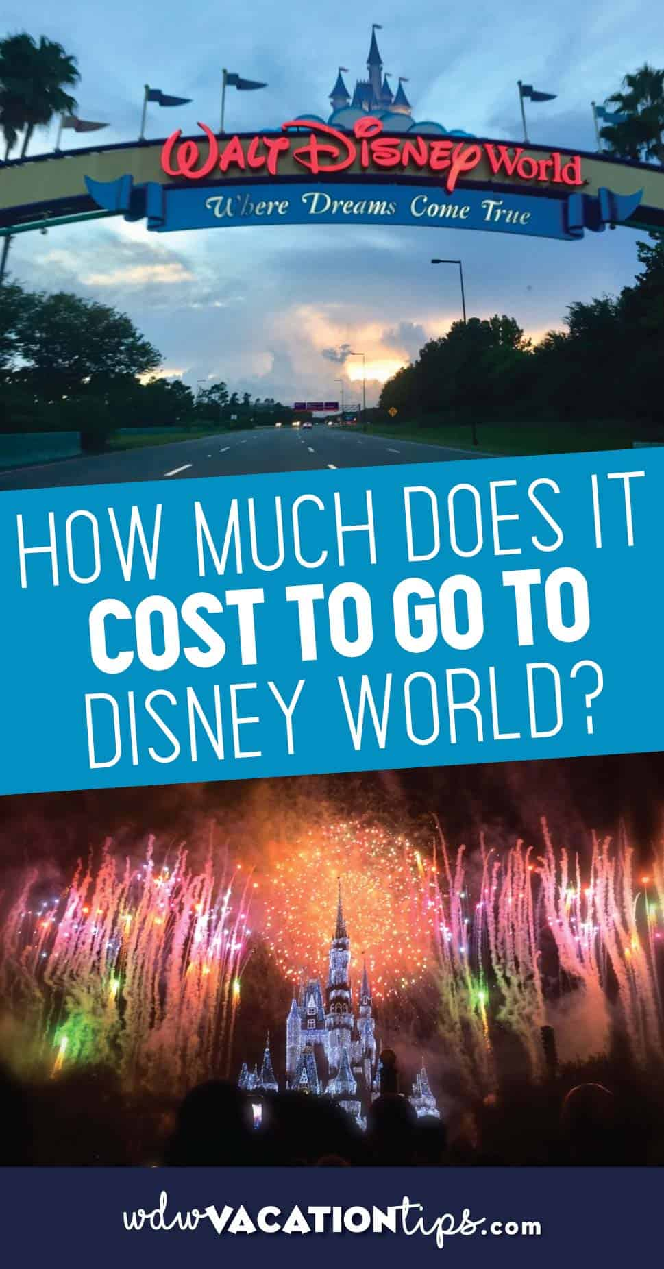 Cost of Disney World Vacation