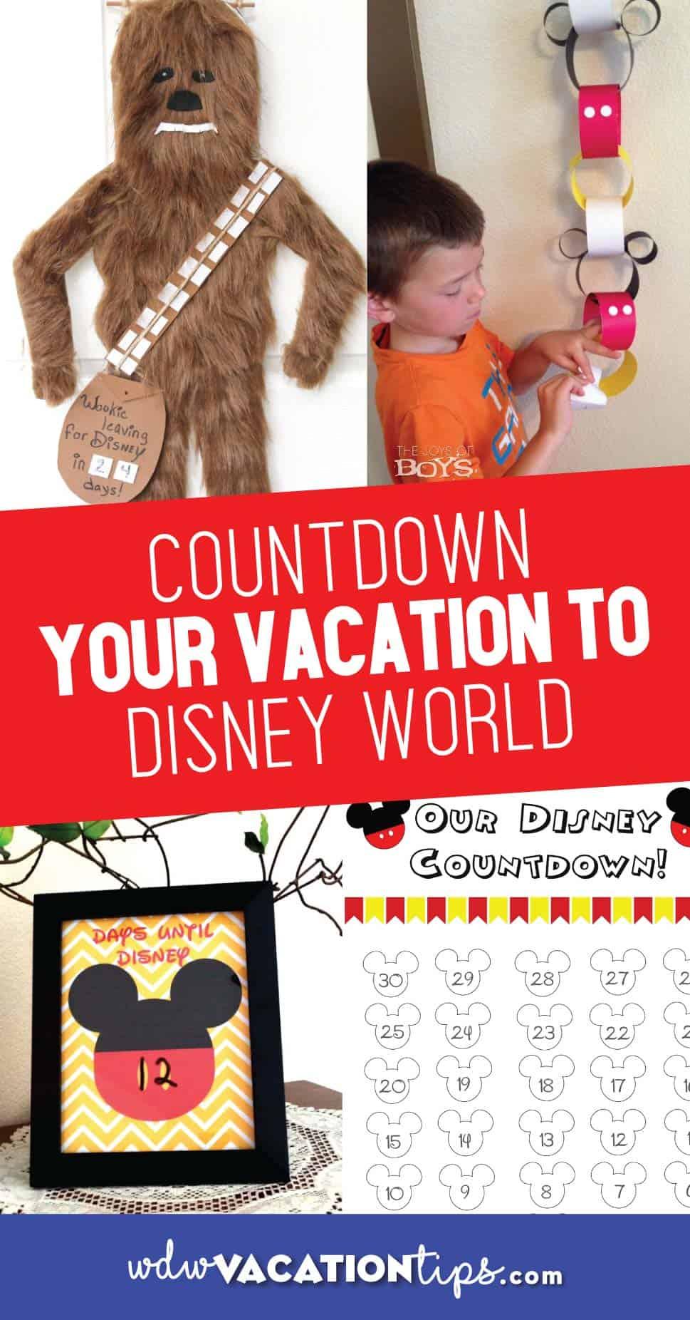 Disney Countdowns