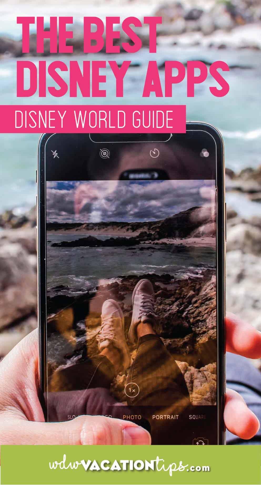 Disney World Smartphone Apps