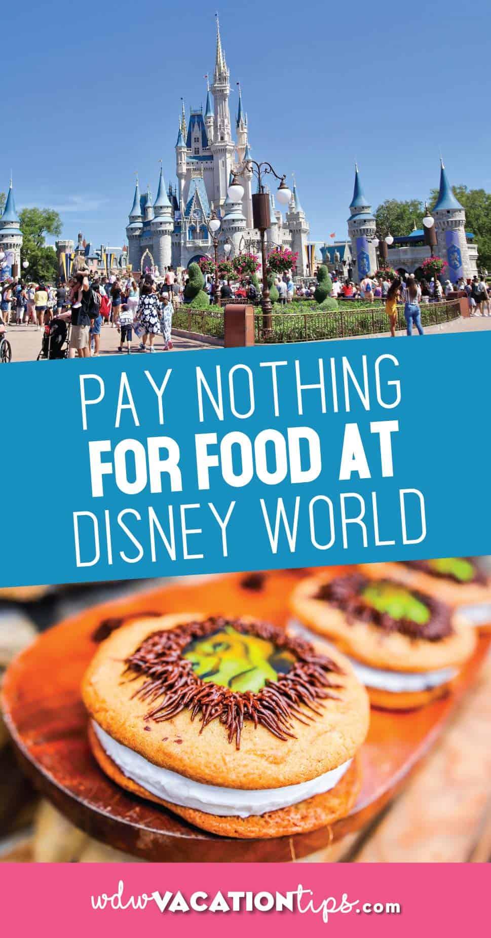 Free Disney Dining Plan