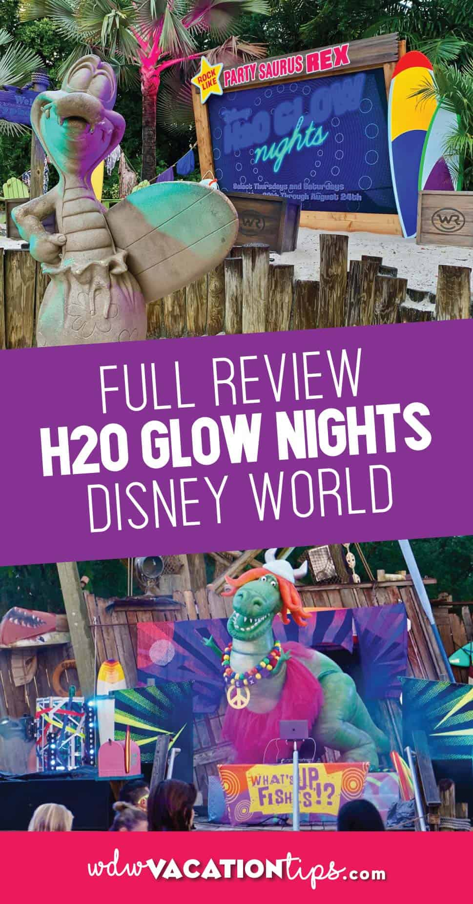 H20 Glow Nights Disney World