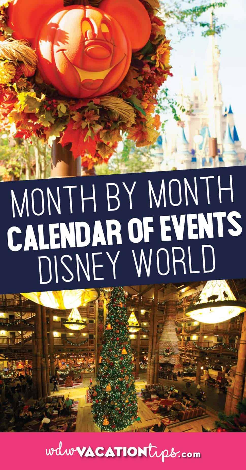 Disney Monthly Calendar