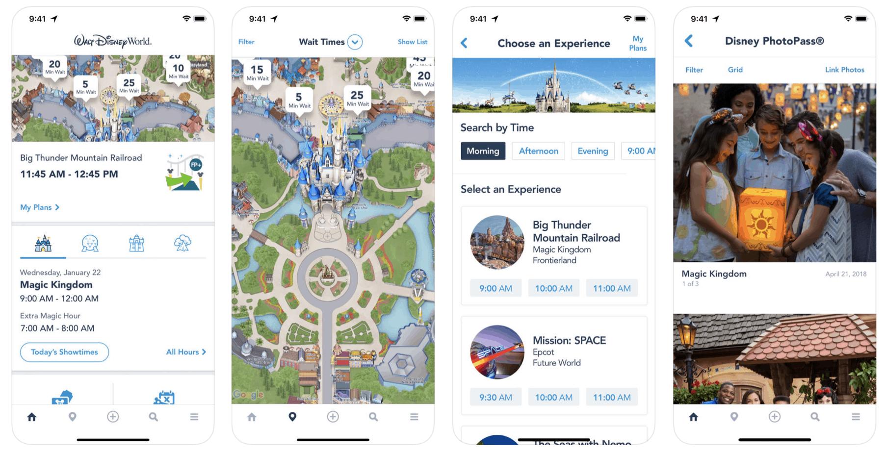The official Walt Disney World® app!