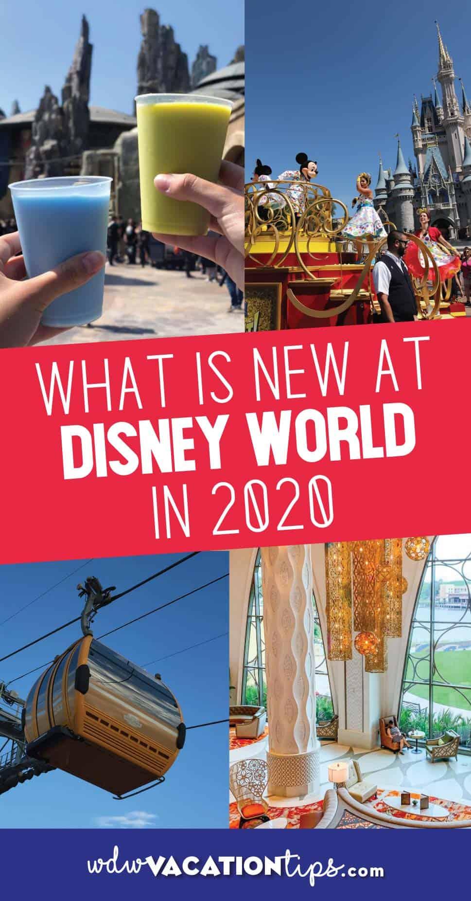 New at Disney World 2020