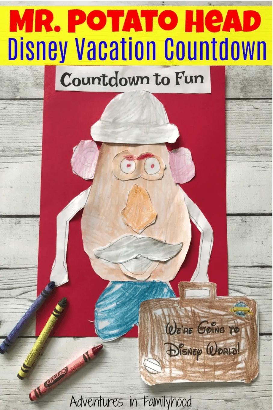 Mr Potato Head Countdown