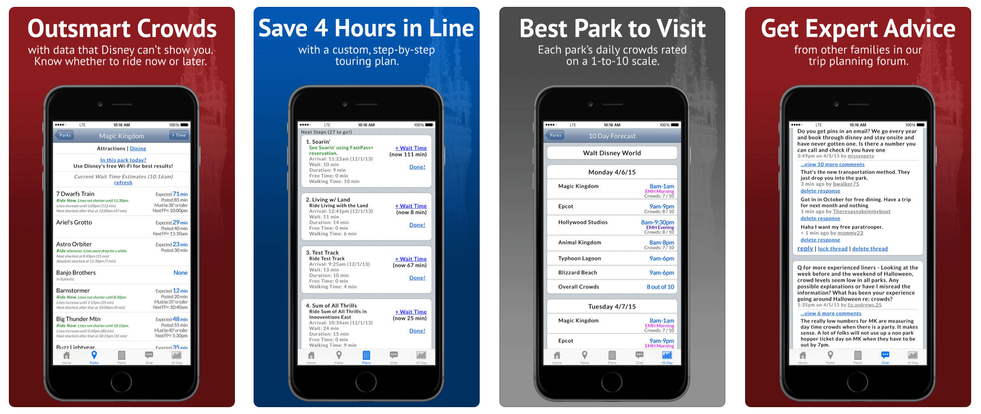 Description LINES will help you save time and money during your Walt Disney World trip.