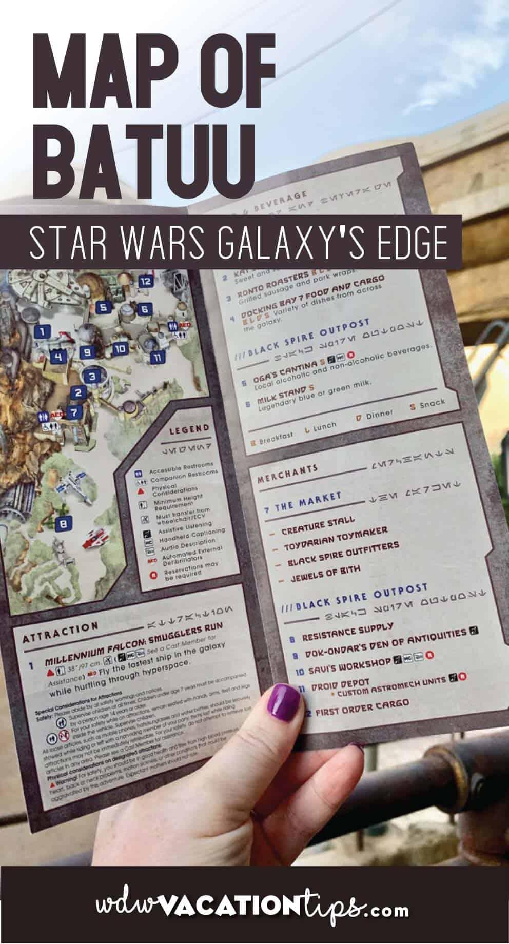 Galaxys Edge Map