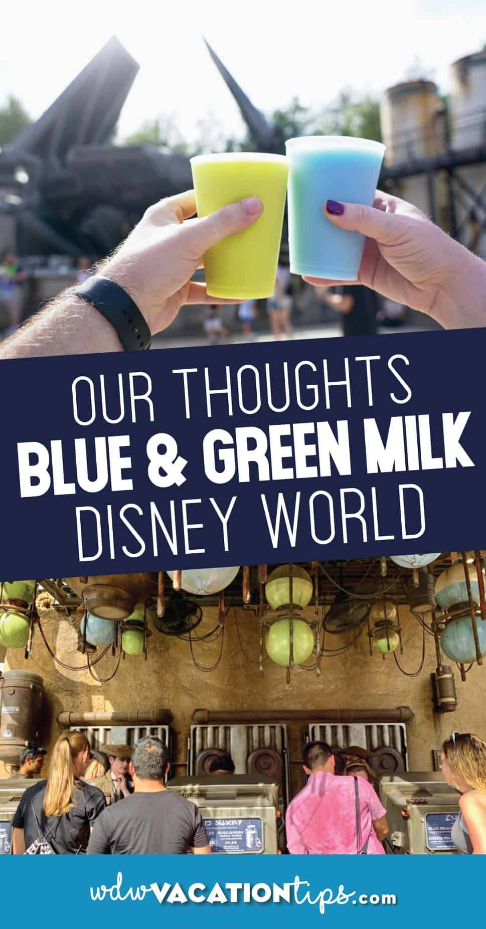 Blue milk green milk