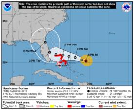Disney World Closures for Hurricane Dorian