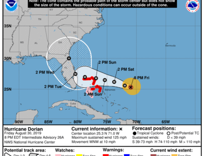 Disney World Closures for Hurricane Dorian 6