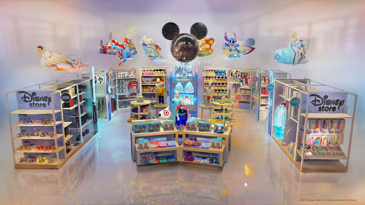 Select Target Locations to Get a Mini Disney Store 8
