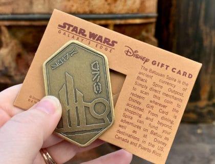 Star Wars Galaxy's Edge Gift Card Batuuan Spira 6