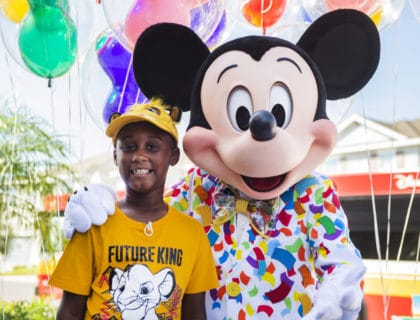 Selfless Boy Who Donated to Hurricane Evacuees Surprised with Dream Trip 4