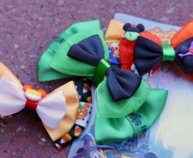 Adorable Disney Halloween Hair Bows