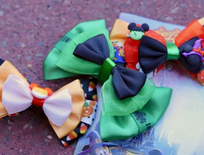 Adorable Disney Halloween Hair Bows 13