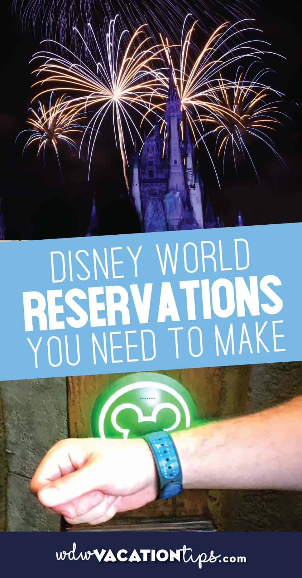 Disney World Reservations to make