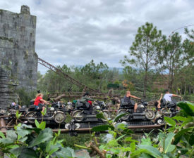 What to Expect on Hagrid's Magical Creatures Motorbike Adventure