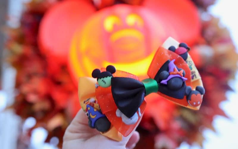 Adorable Disney Halloween Hair Bows 10