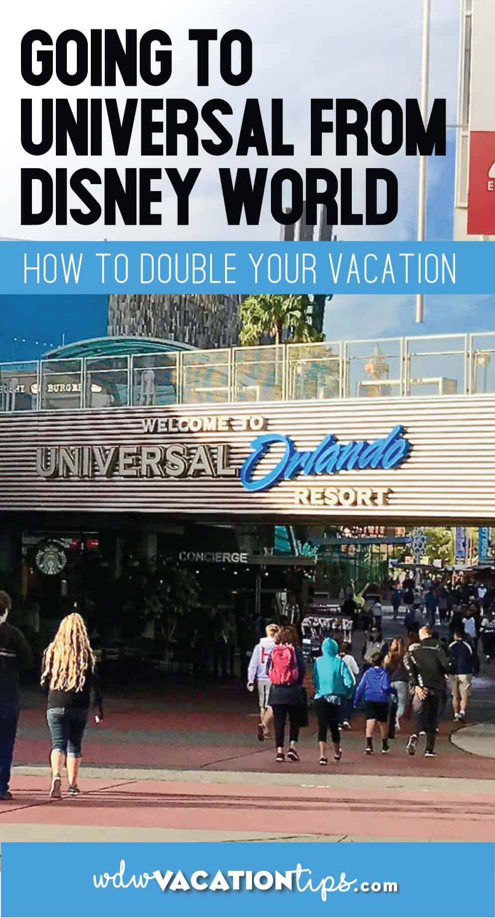 Directions from Disney World to Universal