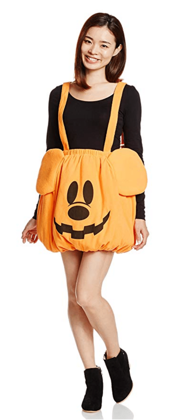 The Cutest Mickey Pumpkin Halloween Costume 9