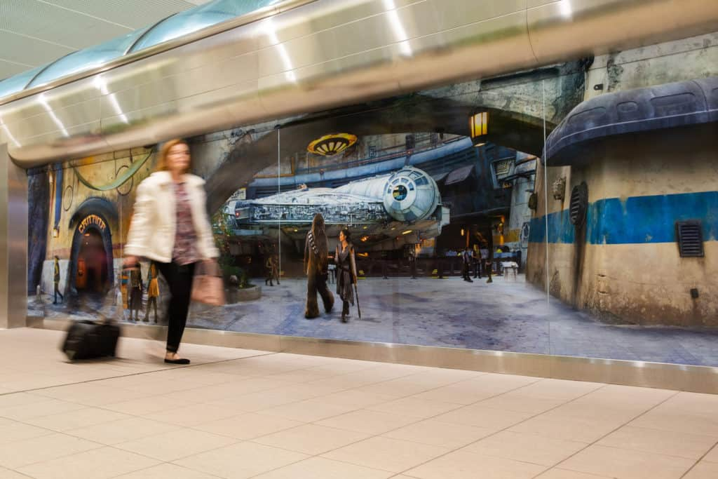 Travelers at Orlando International Airport get to Experience Star Wars: Galaxy's Edge 3