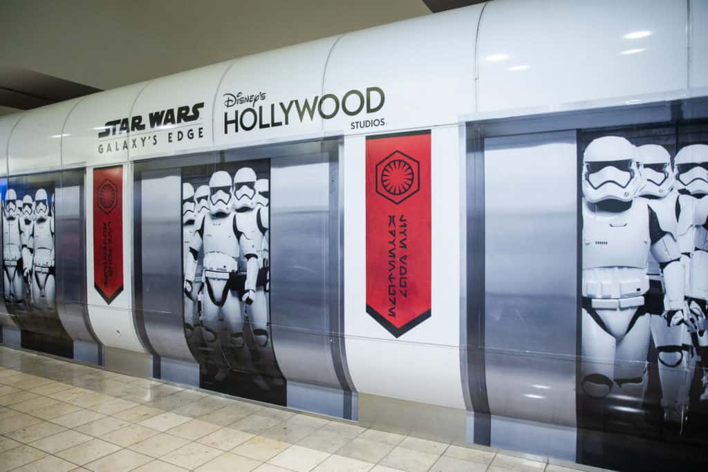 Travelers at Orlando International Airport get to Experience Star Wars: Galaxy's Edge 4