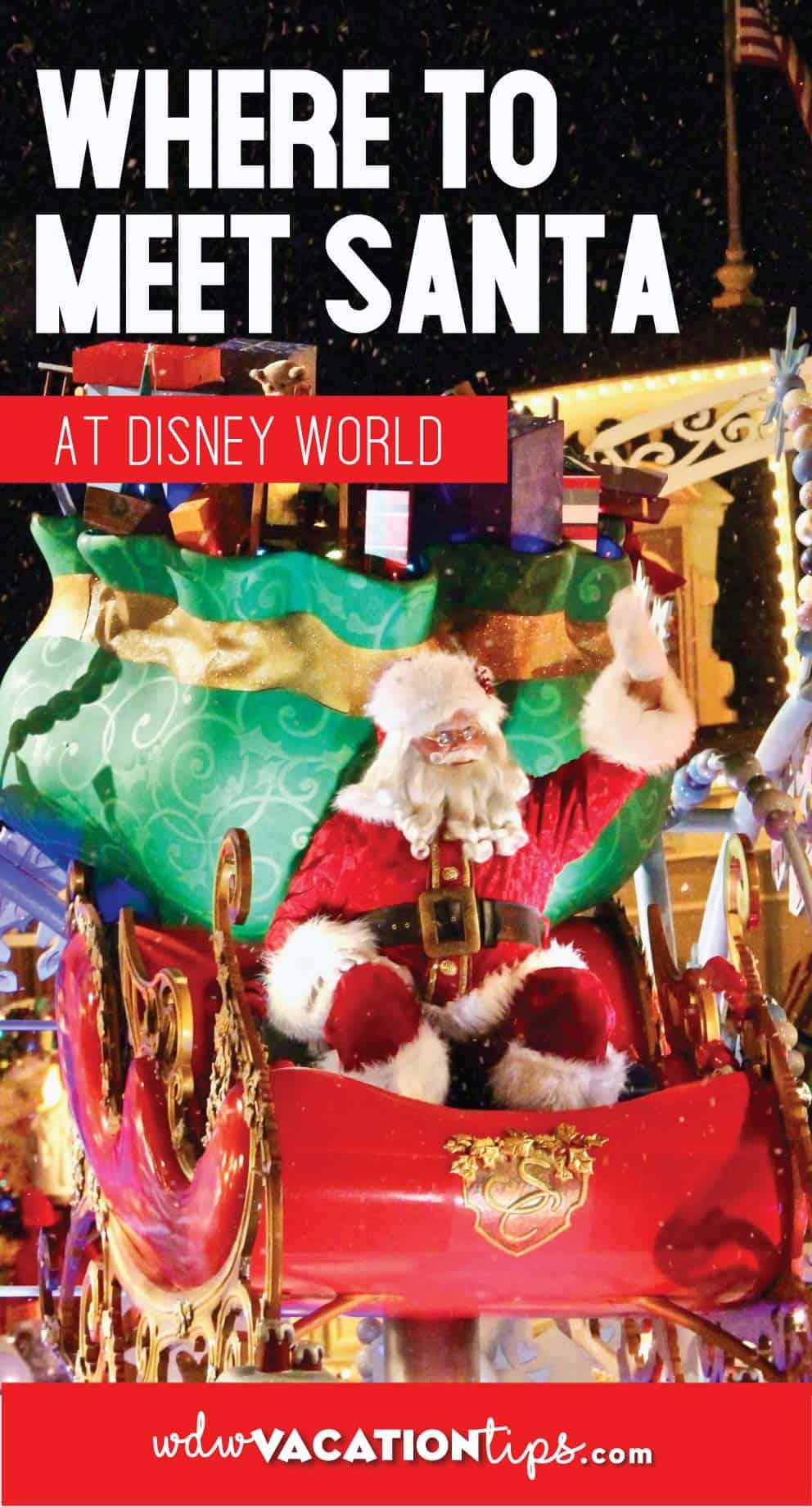 Where to Meet Santa at Disney World 9
