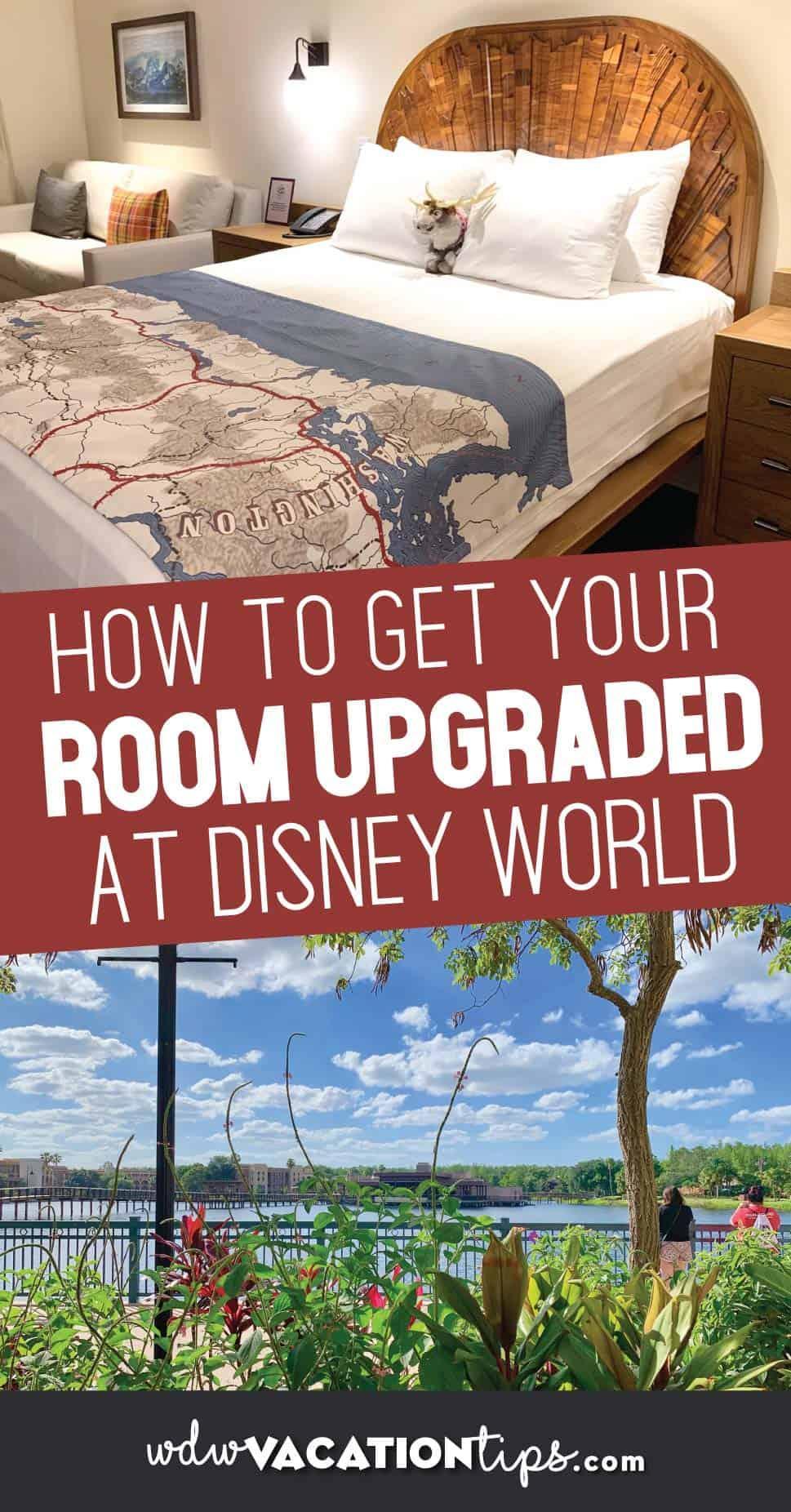 Disney World Room Upgrade