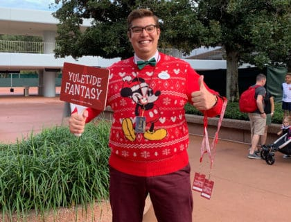 Yuletide Fantasy Walt Disney World Backstage Tour 7