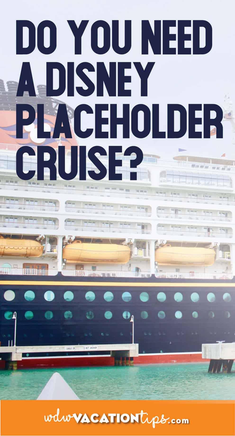Disney Cruise Placeholder