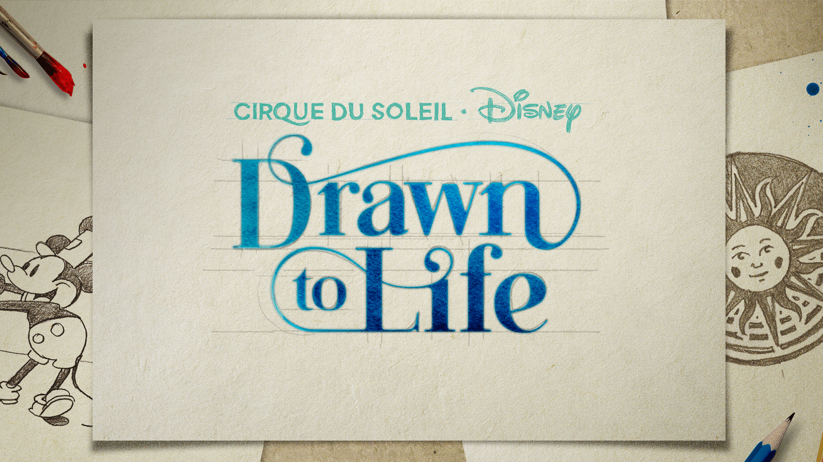 Cirque du Soleil Drawn to Life Tickets Now on Sale 1