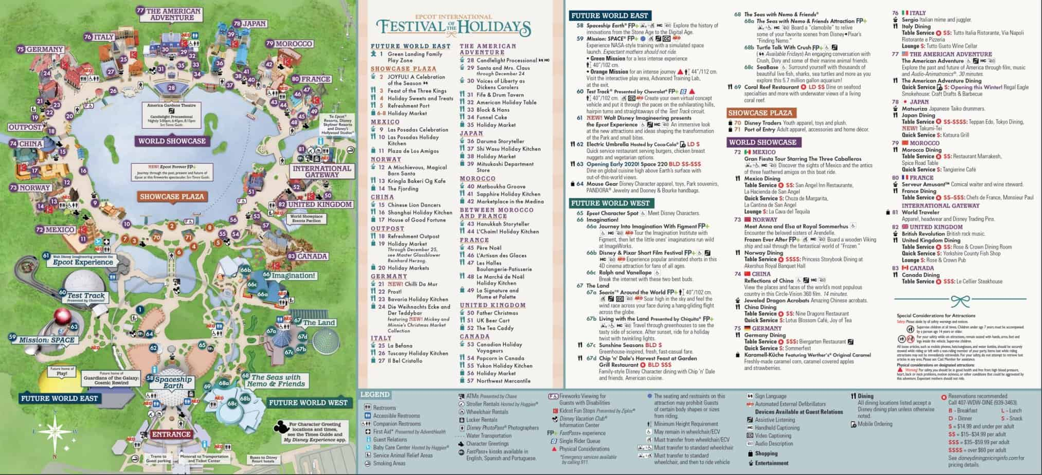 Guide to Epcot Festival of the Holidays 3
