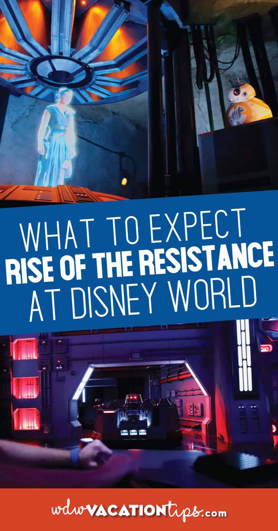 Details on Rise of the Resistance Ride