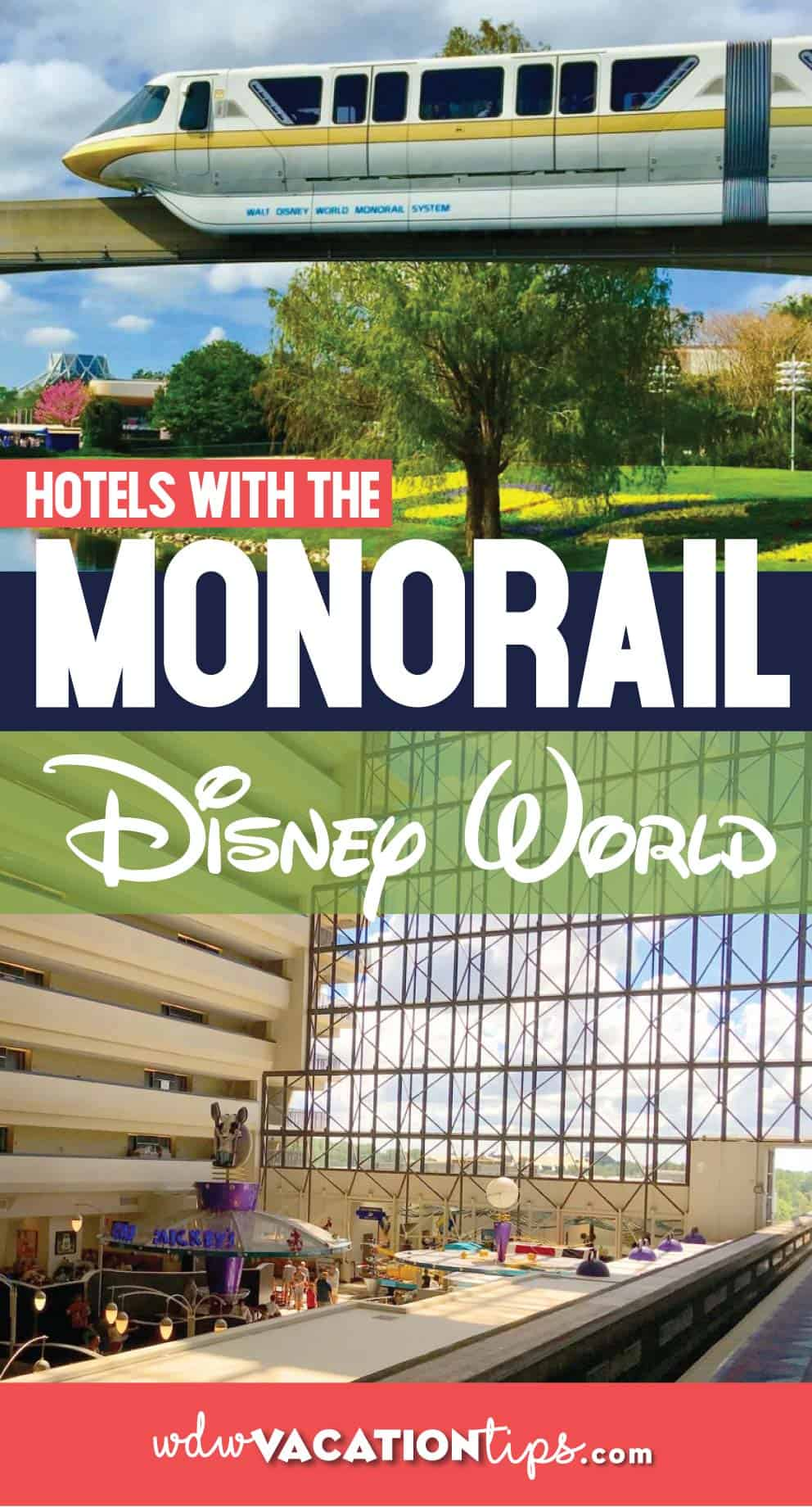 Join the Highway in the Skyway at the Disney Hotels with a Monorail Stop 1