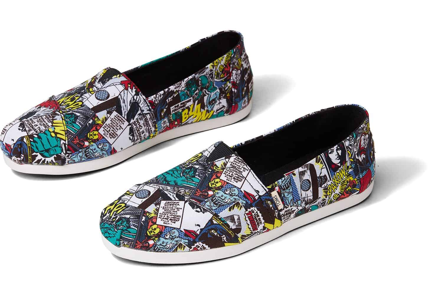 Marvel at These New Superhero Disney TOMS Shoes 11
