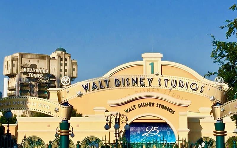 Walt disney studios Entrance, Disney Parks Around the World