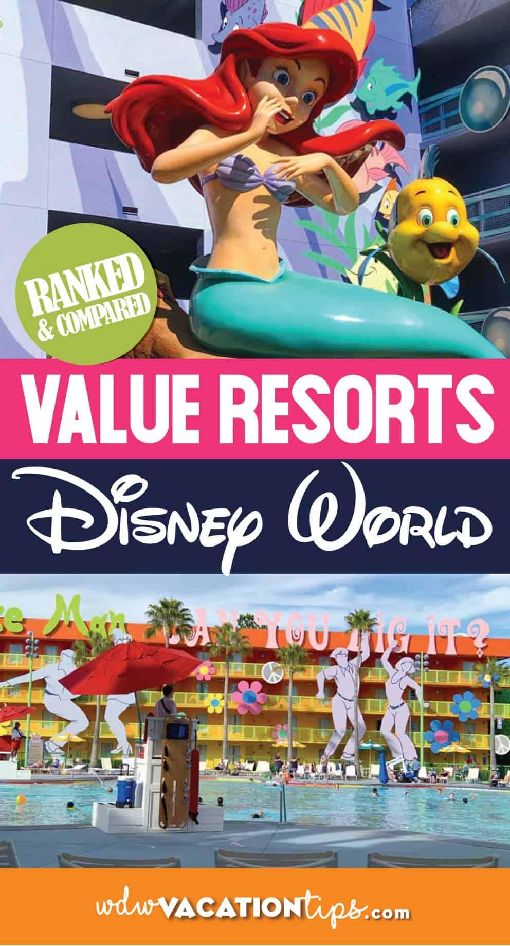 The Best Disney Value Resorts Ranked 1
