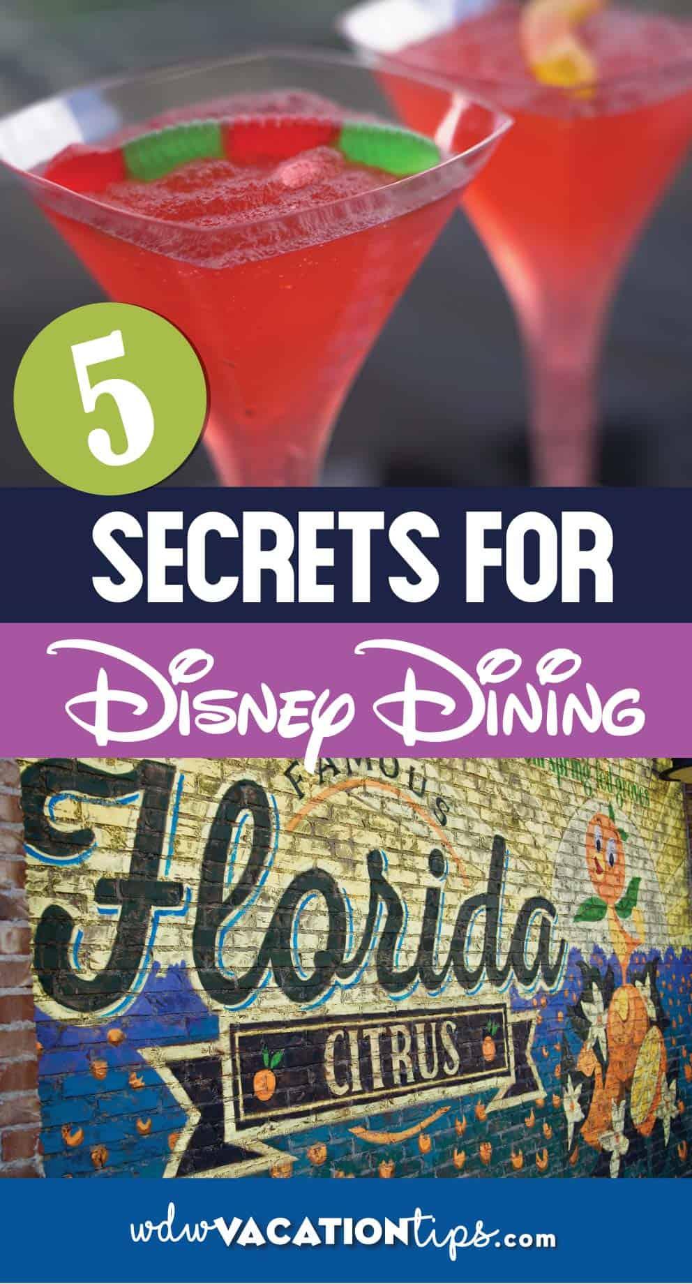 Disney Dining Secrets No One Shares 7