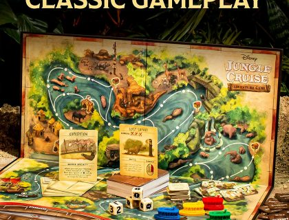 Disney Jungle Cruise Adventure Board Game 13