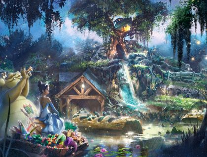 Splash Mountain Changing to a Princess Tiana Attraction 5