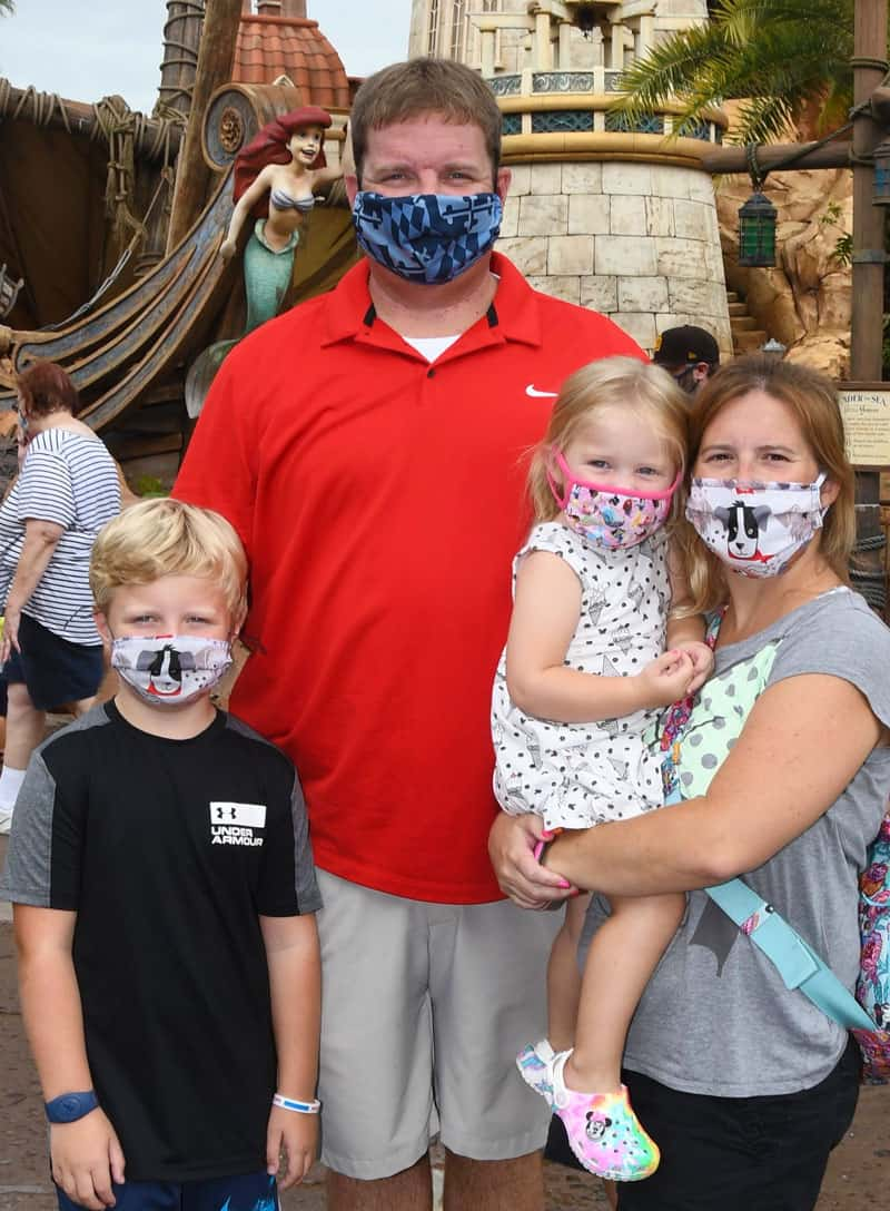Tips for Getting your Kids to Wear a Mask at Disney All Day 2