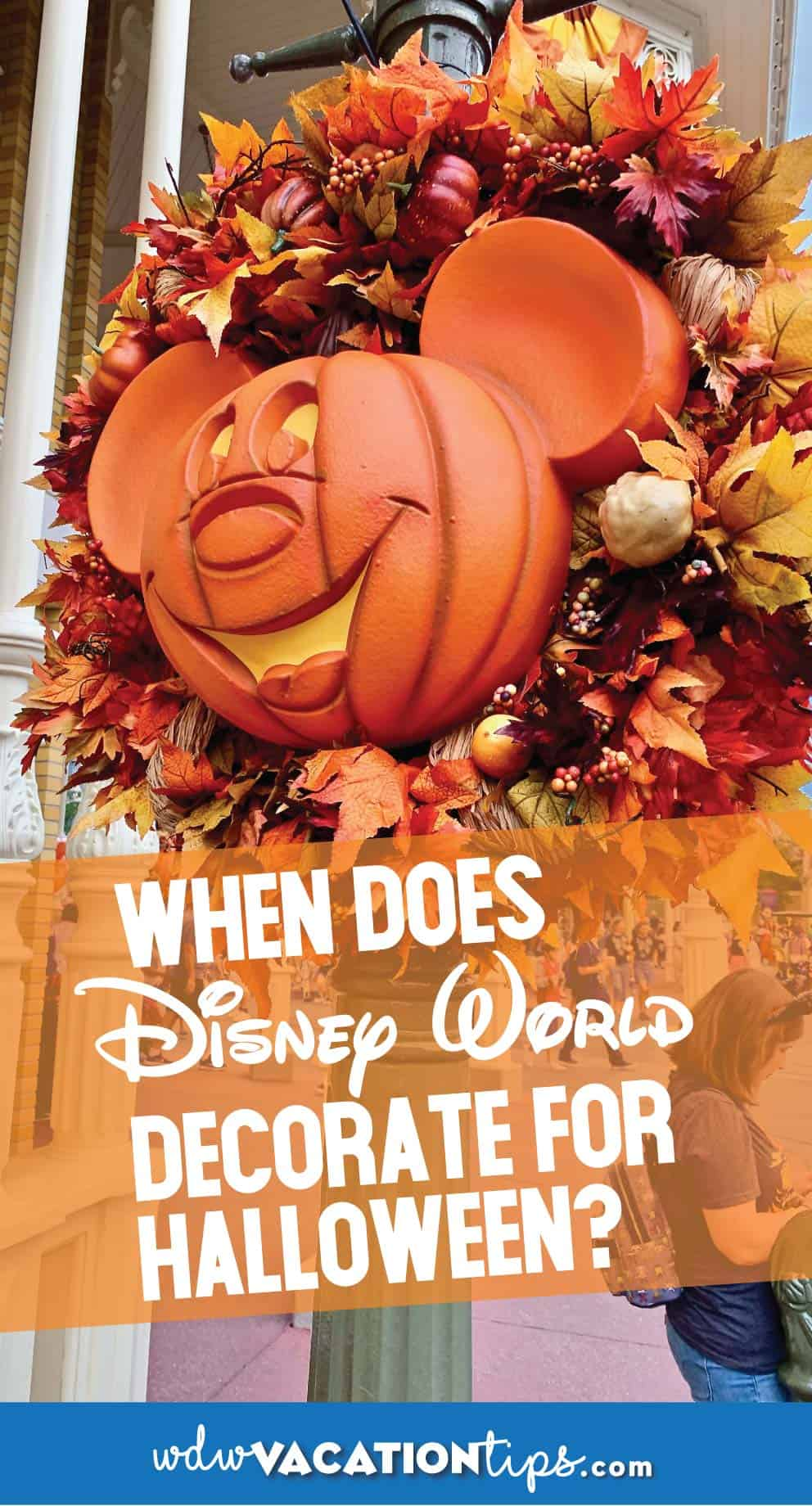Halloween Decorations at Disney World are Coming! 1