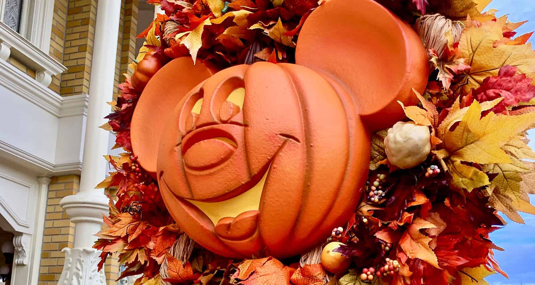 Halloween Decorations at Disney World are Coming! 2