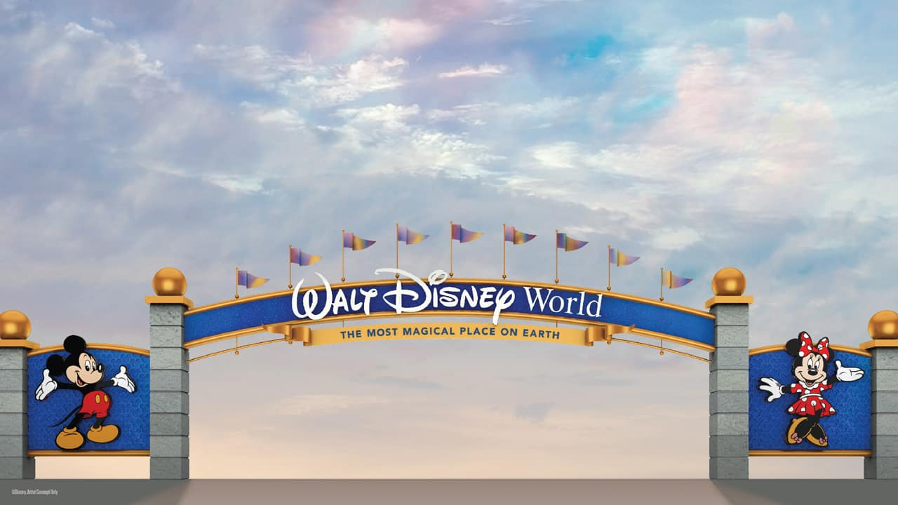 Walt Disney World Resort Entrance Gets a Makeover 4