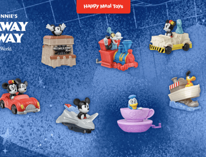 McDonald's Release Disney Attraction Happy Meal Toys 6