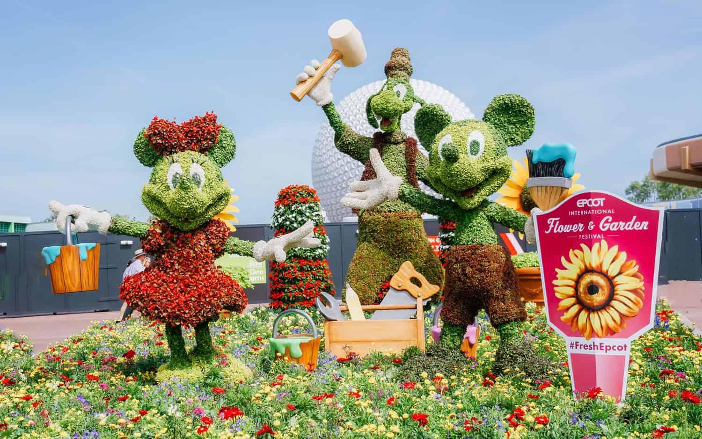Epcot's Flower and Garden Festival