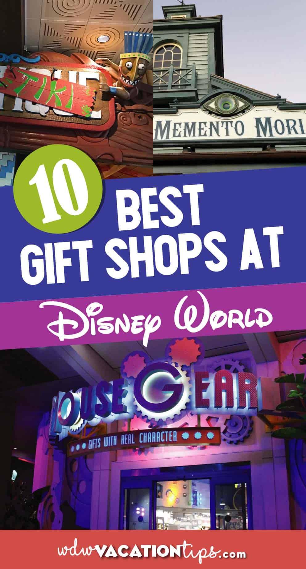 Best Gift Shops at Disney World